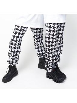 Pantalon pied de coq